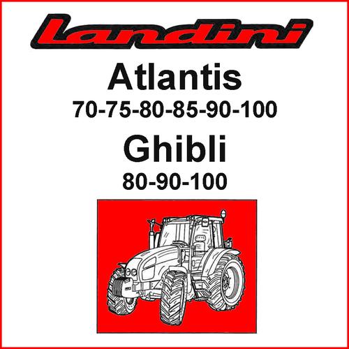 Pay for Landini Atlantis 70 75 80 85 90 100 Ghibli Tractor Training Repair Service Manual - DOWNLOAD