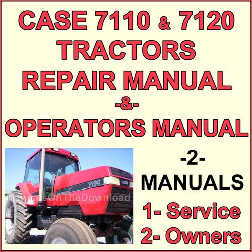 Case Ih International Magnum 7110  U0026 7120 Repair  U0026 Operator Manual
