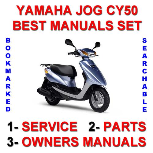 Yamaha Jog Cy50 Service Owner Parts Improved