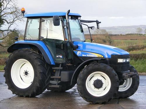 New Holland TM Series TM120 TM130 TM140 TM155 TM175 TM190 Tractor Service  Workshop Manual - IMPROVED - DOWNLOAD