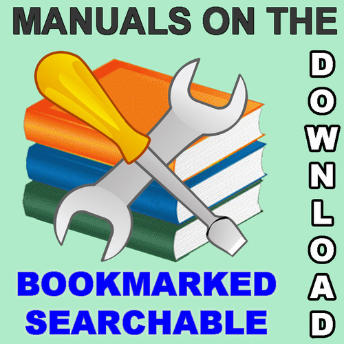 Pay for Yanmar SY Series Engine Repair Service Manual -2- MANUALS - IMPROVED - DOWNLOAD