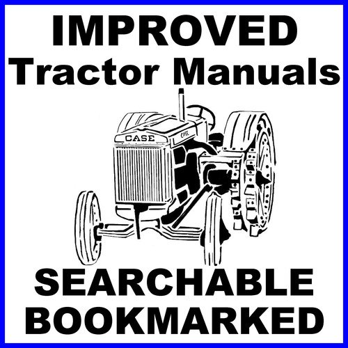 Pay for Collection of 3 files - Case 580E 580SE Tractor Service Manual & Parts Catalog & Operators Manual -3- MANUALS  - DOWNLOAD