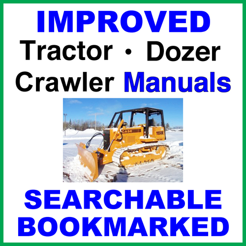 Pay for Collection of 2 files - Case 1150E 1155E Dozer Crawler Service Repair Manual & Operators Instruction Manual - IMPROVED - DOWNLOAD