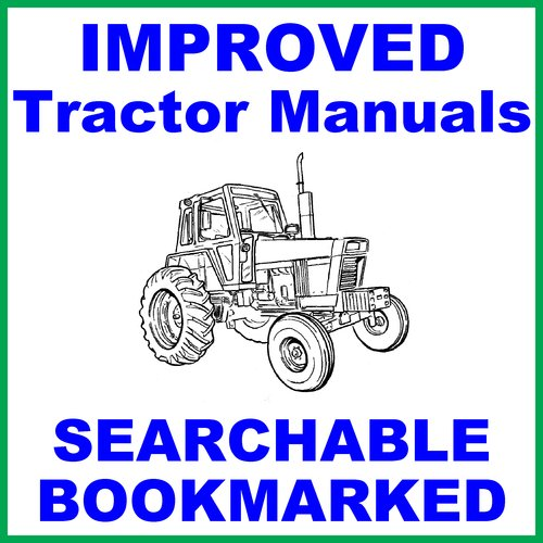 Pay for Collection of 2 files - IH International Case 484 Tractor FACTORY Repair Service Manual & Operator Manual - IMPROVED - DOWNLOAD