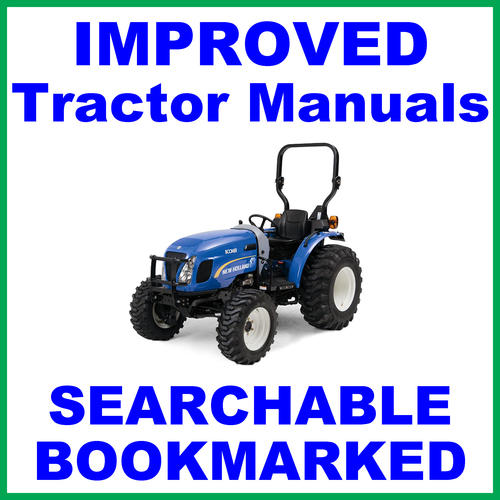 new holland boomer 30 35 compact tractor illustrated parts manual c rh tradebit com ford new holland 8210 tractor manual new holland tractor repair manual pdf