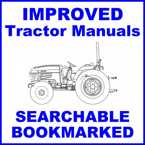 Yanmar EF 453T EF453T Diesel Tractor Factory Service Repair Manual -  IMPROVED - DOWNLOAD