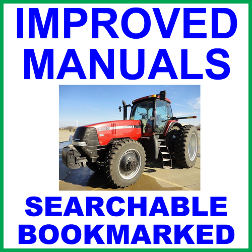 pay for case ih mx255 and mx285 magnum tractor service repair manual -  improved - download
