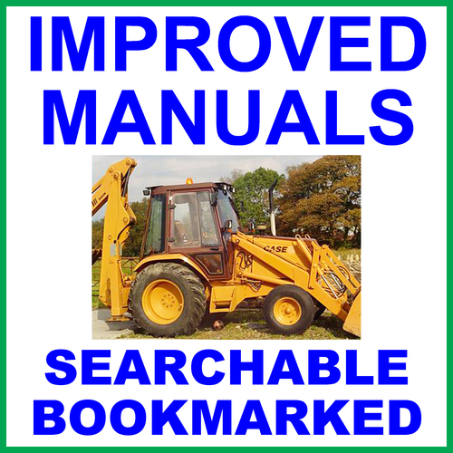 Pay for Collection of 4 files - Case 580 Construction King 1966-1971 Tractor TLB Factory Repair Service Manual & Operators Manual & Parts Manuals - IMPROVED - DOWNLOAD