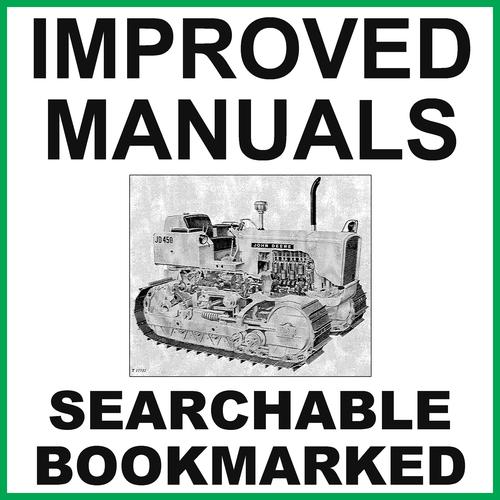 Pay for John Deere JD450 Crawler Tractor Crawler Loader Repair Service Manual SM2064 - IMPROVED - DOWNLOAD