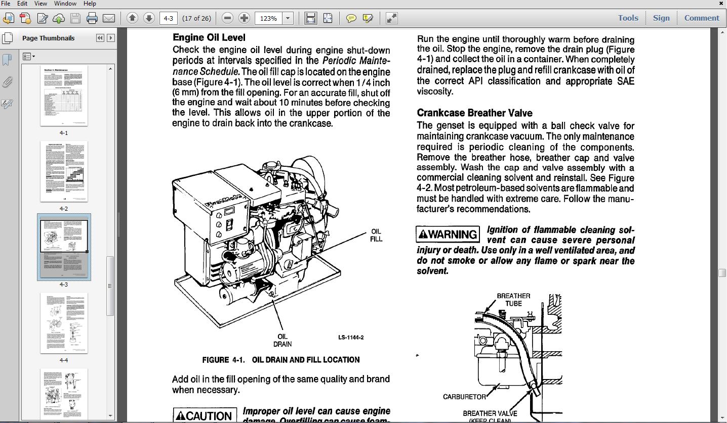 Thumbnail Onan MAJB GENERATOR OPERATORS MANUAL 933-0121