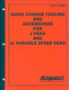 Thumbnail Bridgeport J Head Quick Change Manual