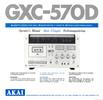 Thumbnail Akai gxc-570d service manual and MORE !!!