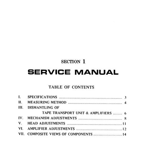 Pay for Akai 4000DS Service / Owner Manual and more!