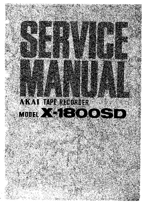 Pay for AKAI X1800SD SM manual and MORE !!!