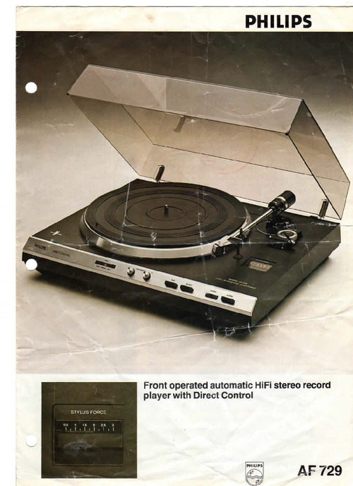 Pay for Philips AF-729-om  Owner Manual and MORE !!!