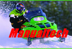 Thumbnail Arctic Cat snowmobile service manual repair 1990-1998
