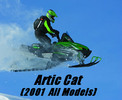 Thumbnail Artic Cat Service Repair Manual ( Covers 2001 All-Models)