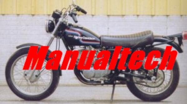 1974 1978 harley davidson ss sx 175 250 service repair