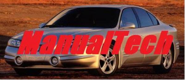 Pay for 2001 Pontiac Bonneville Owners Manual