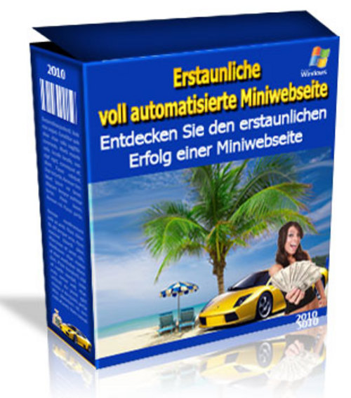 Pay for 7 Euro Miniseite Reseller-Lizenz