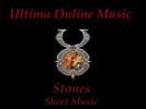 Thumbnail Ultima Online - Stones Sheet Music