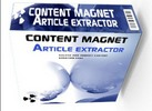 Thumbnail Content Magnet Article Extractor