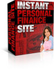 Thumbnail Instant Personal Finance WebSite