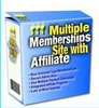 Thumbnail Multiple Membership Site With Affiliate MRR