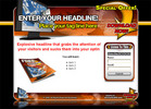 Thumbnail New Audio Squeeze Page Templates With Private Label Rights