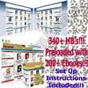 Thumbnail Turnkey Mega Ebook Store with 200+ Ebooks - 340MB + MRR