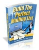 Thumbnail Building The Perfect Mailing List with Master Resell Rights