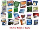Thumbnail 40 000 Ebooks Mega Pack with MRR