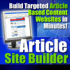 Thumbnail ARTICLE SITE BUILDER with MRR
