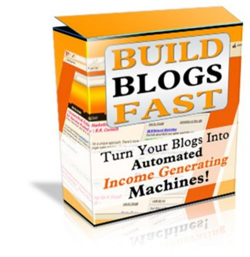 Pay for Build Blogs Fast With Full Master Resale Rights
