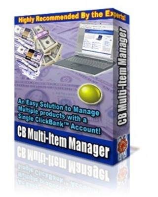 Pay for ClickBank Multi-Item Manager