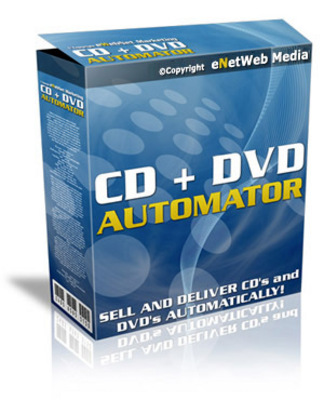 Pay for CD DVD Automator with Master Resale Rights
