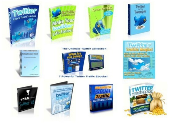 Pay for Twitter PLR Info Bundle + Free Bonus