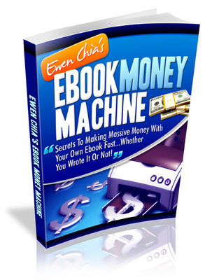 Pay for Ebook Money Machine - With Master Resell Rights