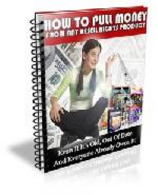 Pay for How to pull money from any resell rights products