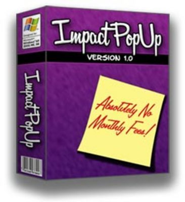 Pay for Impact PopUp - with Master Resale Rights