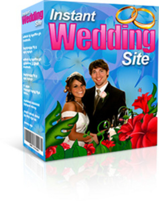 Pay for Instant Wedding Site Software