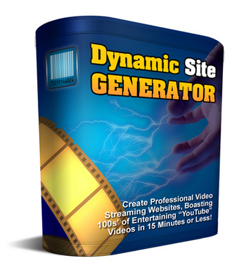 Pay for New Dynamic Site Generator with Resell Rights