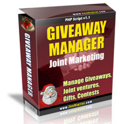 Pay for New Giveaway Manager Joint Marketing Script with MRR
