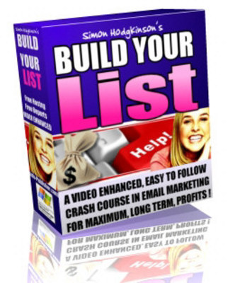 Pay for Build Your List with ReBrander & Master Resell Rights