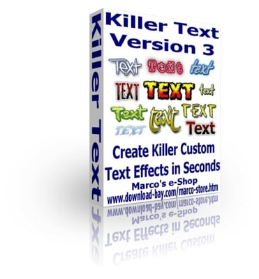 Pay for Killer Text V3 - Create Premium Killer Text Effects