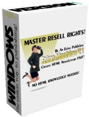 Pay for eZine Machine V. 1 with MRR - No HTML Skill Required