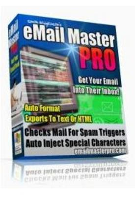 Pay for Email Master Pro with Master Resale Rights
