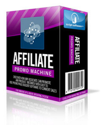Pay for Affiliate Promo Machine with Master Resale Rights