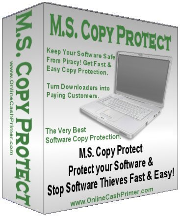 Pay for M.S. Copy Protect - Software Copy Protection