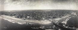 Thumbnail Atlantic City Panorama Print digitally restored - home decor